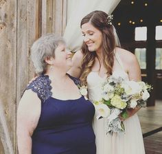 Tori and her Mom Tori Roloff, Jeremy And Audrey, Roloff Family, Little People Big World, Jackson, Mom, Wedding Dresses, Fashion, Bridal Gowns