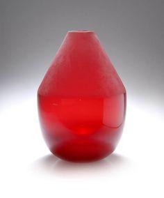 Pierre Charpin; Glass 'Boa' Vase, 2004.