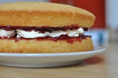 For the love of #baking: Victoria sponge cake