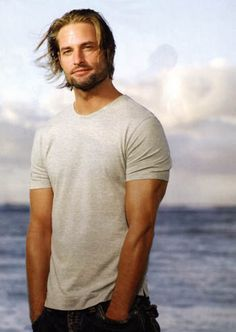 "My favorite son of a bitch ;-)   Josh Holloway (Sawyer from ""Lost"")"