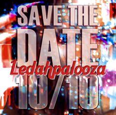Ledahpalooza - teaser digital