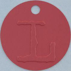 pink tag letter L by Leo Reynolds, via Flickr