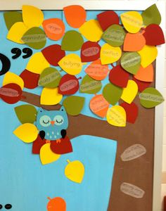 """School Counselor Blog: """"Whoo Can Help You With..."""" School Counselor Bulletin Board"""