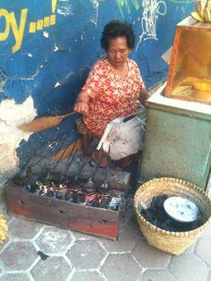 Street Vendor, Food Stall, Indonesian Food, Java, Business Women, Woman, Indonesian Cuisine, Women In Business