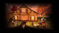 "Second Life   Theatre Plays ""Drachenblues"""