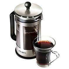 Mr. Coffee 3 Piece Piezas 1.2 Quart Coffee Press *** Startling review available here  : Coffee Tea Espresso