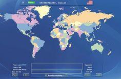 """Jugando con """"Geosense"""", puedes competir contigo mismo, jugando como invitado, o contra otros jugadores online, registrándote sólo con un identificador y contraseña, para localizar en el mapa del mundo cualquier lugar que se te proponga: Atenas, Kiev, Tokio, etc. ¡Prueba tus conocimientos de geografía universal!"""