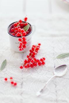 Red Currant and chia seed cake * Bolinhos de Groselhas e Chia  suvellecuisine.com