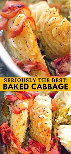 This is a Baked Cabbage recipe you are absolutely going to LOVE.  Enjoy!