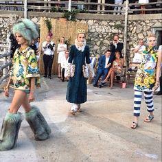 Capri, Italy | Dolce & Gabbana