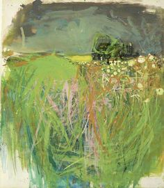 Hedgerow with Grasses and Flowers by Joan Kathleen Harding Eardley National Galleries of Scotland Date painted: Gouache & oil on paper, x 33 cm Contemporary Landscape, Landscape Art, Landscape Paintings, Watercolor Landscape, Paintings I Love, Your Paintings, Indian Paintings, Art Abstrait, Art Uk