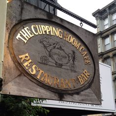 The Cupping Room Cafe, Soho, NYC