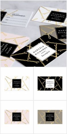 Chic Bobby Pins Brand Suite