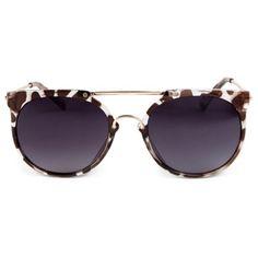 Cami round sunglasses
