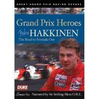 GRAND PRIX HEROES - MIKA HAKKINEN DVD