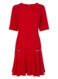 Red Drop Waist Tunic | £28 | BHS