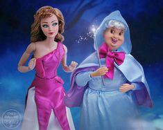 Cinderella Doll, Disney Princess Dolls, Disney Dolls, Disney Fun, Disney Movies, Disney Characters, Barbie Clothes, Barbie Dolls, Yellow Brick Road