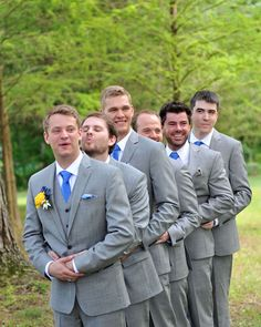 Groomsmen getting in on the action. Wedding Photographer: Ciao Bella Celebrations.