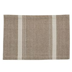 Marshal Stripe Placemat, matching cloth napkins and runner Parking Design, Natural Home Decor, Cloth Napkins, Earth Tones, Texture, Contemporary, Pillows, Placemat, Farmhouse