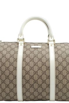 $725 - EVERYONE LOVES THIS BAG!! Brand New GUCCI GG Plus Boston Bag. BIG, BOLD AND BEAUTIFUL!!