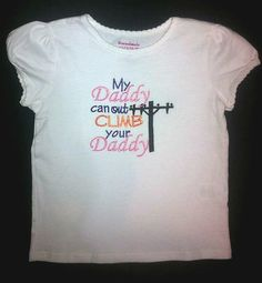 My Daddy can out CLIMB your Daddy lineman by BoutiqfullyYours