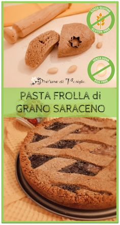 Italian Recipes The shortbread of buckwheat is a type of shortcrust pastry with a strong and . Gluten Free Recipes, Vegan Recipes, Cooking Recipes, Vegan Dishes, Vegan Foods, Sweet Desserts, Delicious Desserts, Sweet Light, Friend Recipe