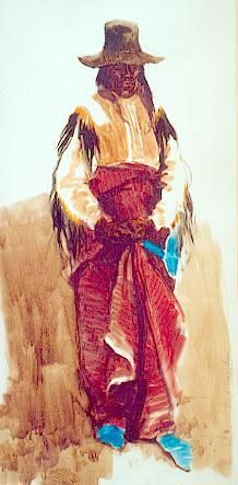 Cheyenne Elder by Ned Jacob kp