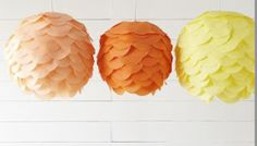 A Bubbly Life: Paper Lantern DIY- Kalia's Nursery- The Details