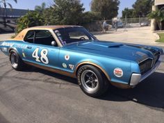 Motori: Cool Trans-Am Clone: 1968 Mercury Cougar - Ultime Notizie Ford Classic Cars, Classic Cars Online, Road Race Car, Fire Suppression System, Mercury Cars, Mustang Fastback, Pony Car, Trans Am, Vintage Race Car