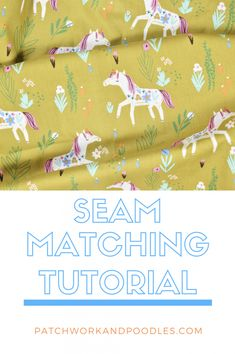 Invisible Seam Backing | A Tutorial - Patchwork and Poodles