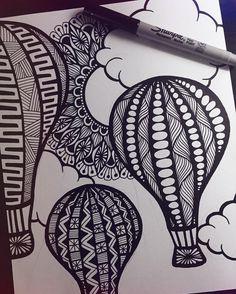 Easy Doodle Art, Doodle Art Designs, Doodle Art Drawing, Zentangle Drawings, Pencil Art Drawings, Cool Art Drawings, Art Drawings Sketches, Drawing Ideas, Flower Drawings