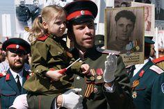 Акция «Бессмертный полк» в Новосибирске