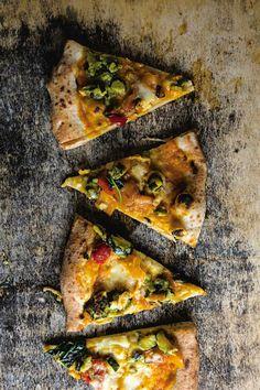 Pizza del Papa (Butternut Squash and Smoked Mozzarella Pizza) Recipe - Saveur.com