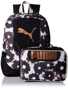 PUMA Sports Backpack Rucksack Day Bag For Mens Womens Gym Boys Girls Kids School