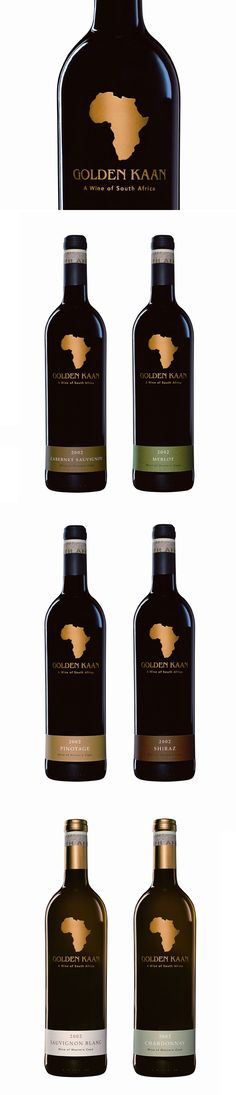 Golden Kaan. Wine of South Africa PD