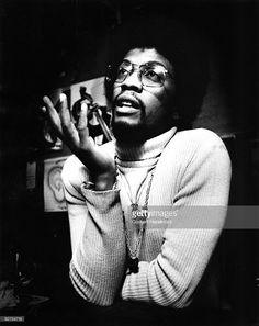 Herbie Hancock posed in Amsterdam, Holland in 1975