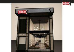 BURAK'S shoe store on Behance