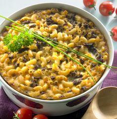 Liha-makaronilaatikko - Mince meat macaroni caserole