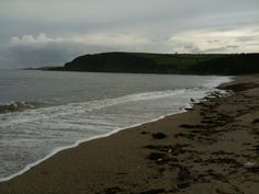 Pentewan Beach in Pentewan, Cornwall, for sea glass.