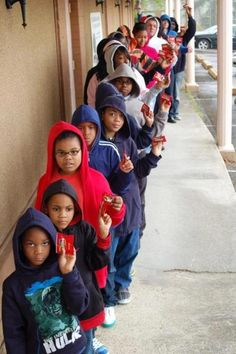 Future generation protesting for justice for Trayvon Martin. via Kalimah Priforce on Facebook
