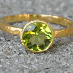 Love this peridot ring from @LaylaGrayce