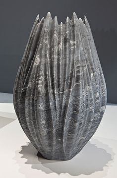 Zaha Hadid sculpts marble vases and tables for Citco.