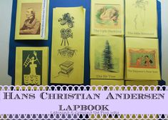 Hans Christian Anderson unit study and lapbook -free download