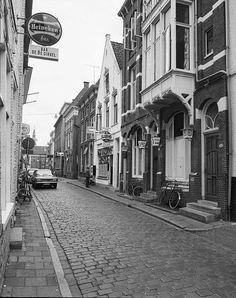 Peperstraat 1975 gezien naar het zuiden - Foto's SERC