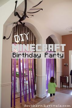 DIY Minecraft Birthday Party | How to Pull off an Awesome Party with Limited Resouces - Southern Revivals