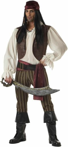 Rogue Pirate Adult Mens Costume