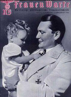 Hermann Goering e sua figlia Edda Goering
