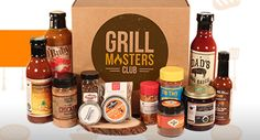 Grill Masters Club is a monthly subscription box for people who love grilling, smoking and BBQ. Discover sauces, rubs, grilling accessories & more! Smoked Shrimp, Carolina Pulled Pork, Smoked Sausage Recipes, Bbq Gifts, Bbq Set, Best Bbq, Grill Master, Subscription Boxes, Monthly Subscription