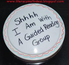 Literacy & Math Ideas: Guided Reading Ideas