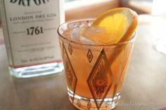 1945 vintage orange blossom cocktail